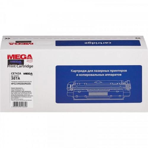 Картридж лазерный ProMEGA Print CE742A желтый совместимый