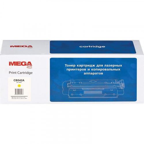 Тонер-картридж Pro Mega 125A CB542A желтый совместимый