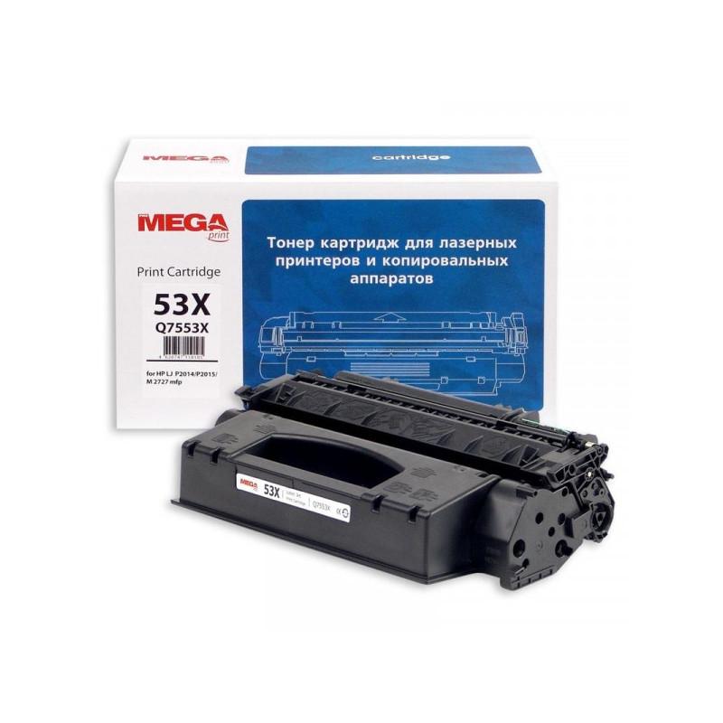 Тонер-картридж лазерный Pro Mega 53X Q7553Х черный совместимый