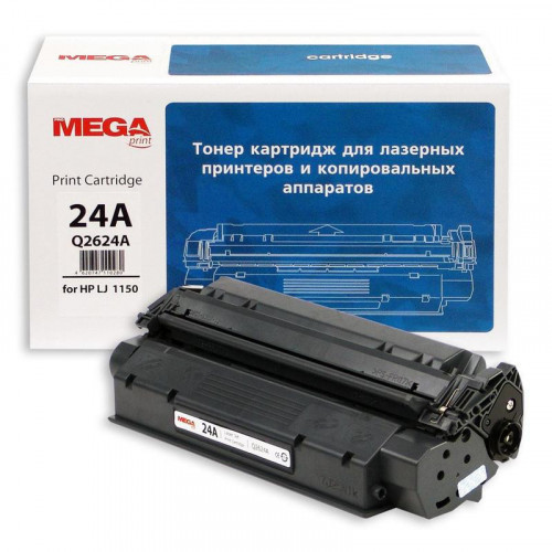 Картридж лазерный MEGA print 24A Q2624А черный совместимый