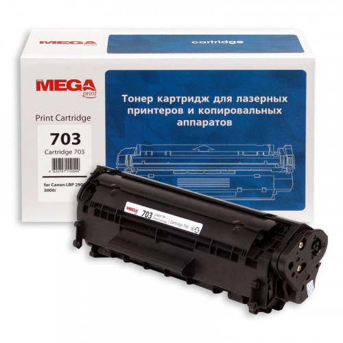 Тонер-картридж лазерный MEGA print Cartridge 703 черный совместимый