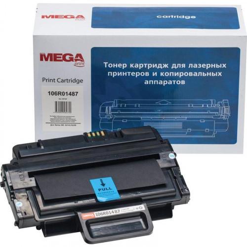 Картридж лазерный MEGA print 106R01487 черный совместимый