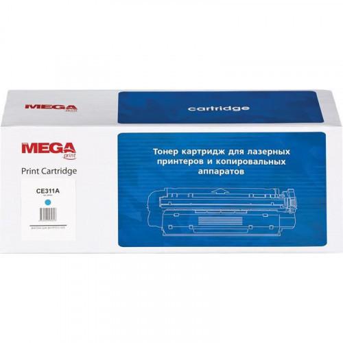 Картридж лазерный MEGA print 126A CE311A голубой совместимый