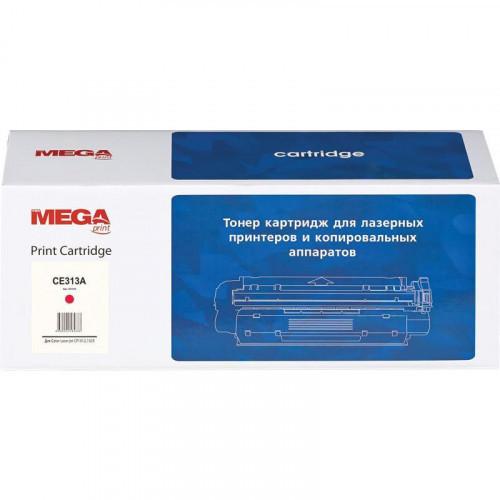 Картридж лазерный MEGA print 126A CE313A пурпурный совместимый