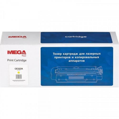 Картридж лазерный MEGA print 128A CE322A желтый совместимый