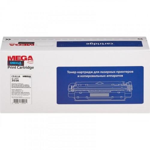 Тонер-картридж лазерный ProMEGA print 305A CE411A голубой совместимый