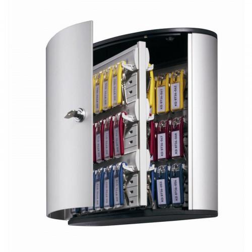 Шкаф для ключей Durable 1953-23 серый (на 54 ключей, алюминий