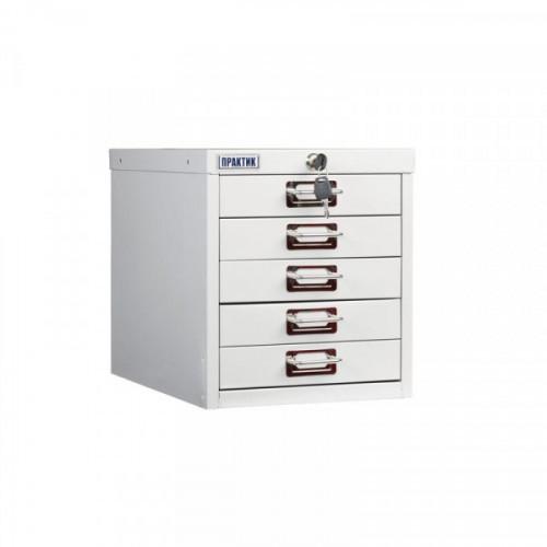 Шкаф Практик MDC-315/5 серый (5 ящиков)