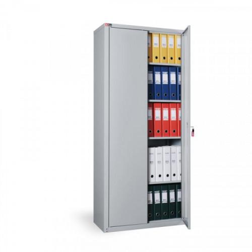 Металлический шкаф архивный КД-155/Б с ключевым замком 800х380х1820 мм