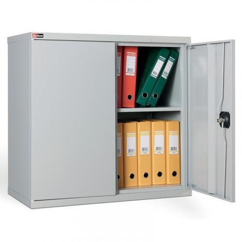 Металлический шкаф архивный КД155А с ключевым замком 800х400х780 мм