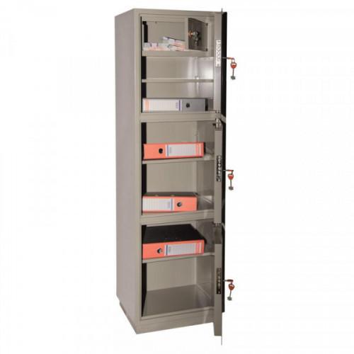Металлический шкаф для бумаг КБC 033т 470х395х1560 мм трейзер