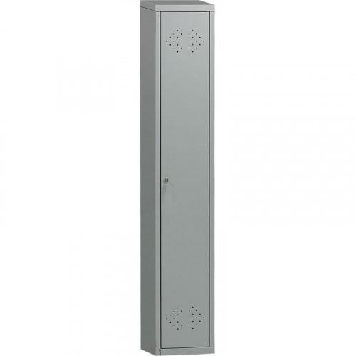 Металлический шкаф для одежды ПРАКТИК LE-11 302х500х1830 мм 1 отделение