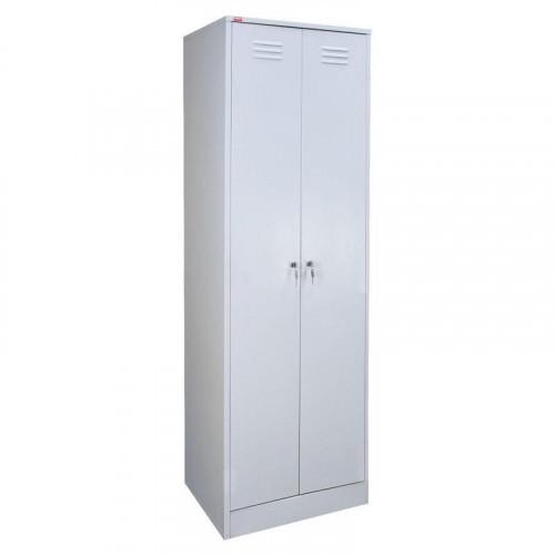 Металлический шкаф для одежды ШРМ-АК 600х500х1860 мм 2 отделения
