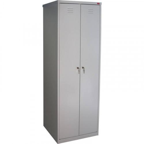 Металлический шкаф для одежды ШРМ-АК 800х500х1860 мм 2 отделения