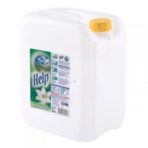 Кондиционер для белья HELP «Альпийская свежесть» 5 литров