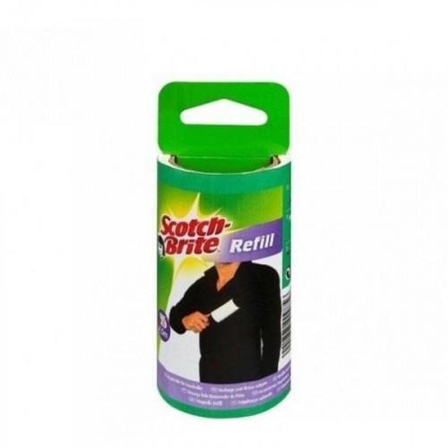Ролик для чистки одежды 3М Scotch-Brite запасной блок 30 листов