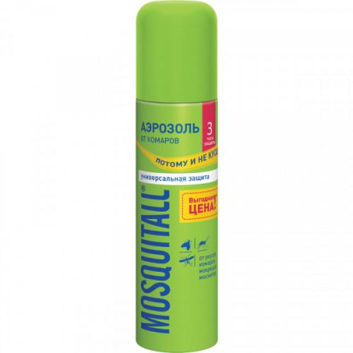Средство от комаров Mosquitall Универсальная защита аэрозоль 150 мл
