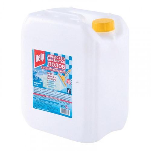 Средство для мытья пола HELP концентрат 5 литров