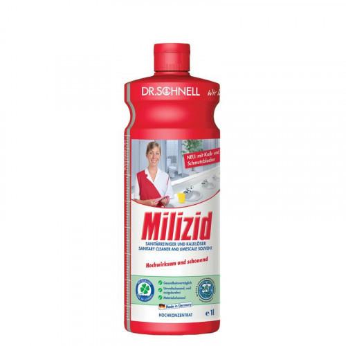 Средство для сантехники MILIZID 1 литр концентрат профессионал Германия