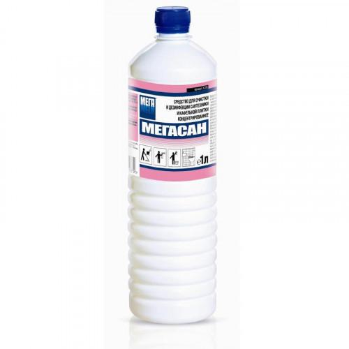Дезинфецирующее средство для сантехники жидкость кислота 1 л концентрат