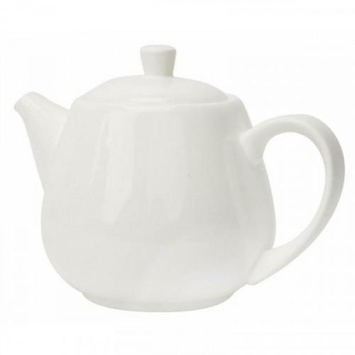 Чайник заварочный Wilmax фарфоровый белый 1000 мл