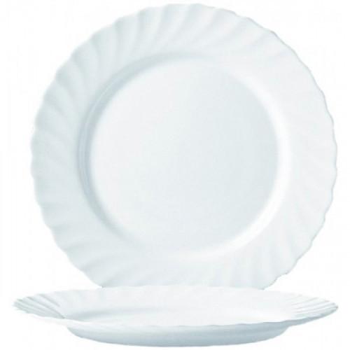 Тарелка обеденная Luminarc Трианон белая 24.5 см