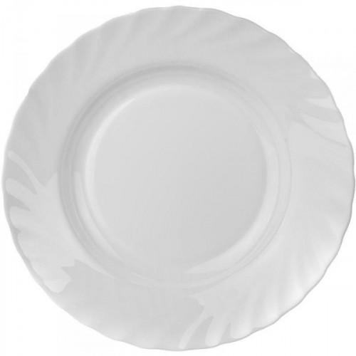 Тарелка суповая Luminarc Трианон белая 22.5 см