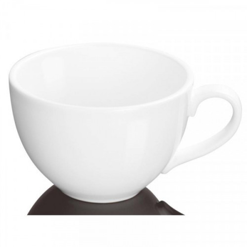 Кружка Wilmax Джамбо фарфоровая белая 420 мл