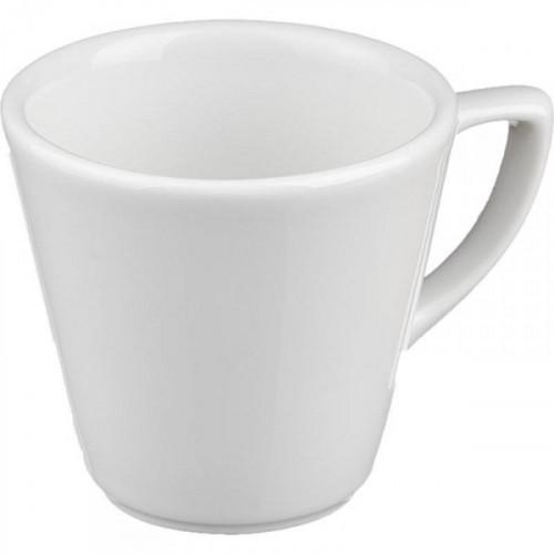 Чашка кофейная Башкирский фарфор Мокко белая 75 мл