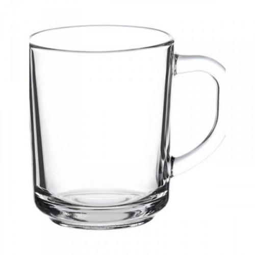 Кружка Pub стеклянная прозрачная 250 мл