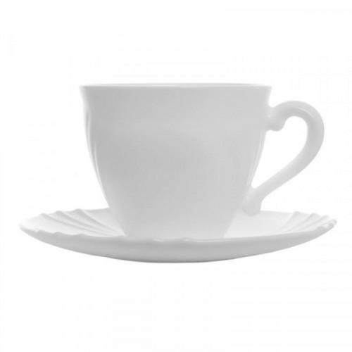 Сервиз чайный Luminarc Кадикс 220 мл белый на 6 персон