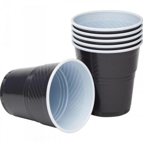 Стакан одноразовый Upax unity пластиковый для вендинговых аппаратов коричнево-белый на 155 мл по 50 штук в упаковке