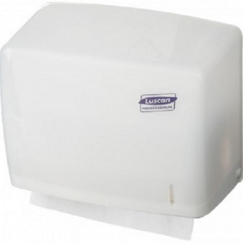 Держатель для листовых полотенец Luscan Professional слож V белый-прозR-1318TW