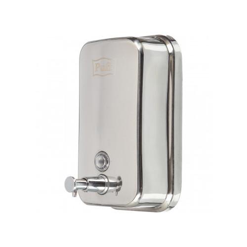 Дозатор для разливного жидкого мыла 1 литр стальной