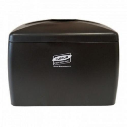 Диспенсер для салфеток Luscan Professional MAXI N4 черный 1331B