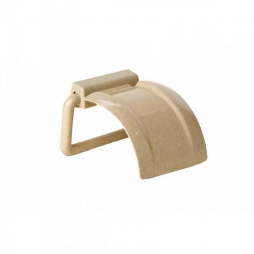 Держатель для туалетной бумаги М2225 пластиковый светло-бежевый