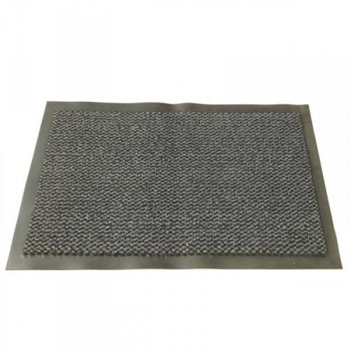 Ковер грязезащитный ворсовый на ПВХ-основе 600х900х5 мм серый