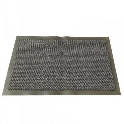 Ковер входной грязезащитный ворсовый на ПВХ основе 1200х1800 мм темно-серый
