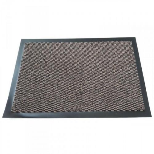 Ковер входной грязезащитный ворсовый на ПВХ основе 900х1500 мм коричневый