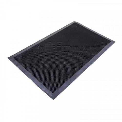 Коврик напольный резиновый 90х120 см черный