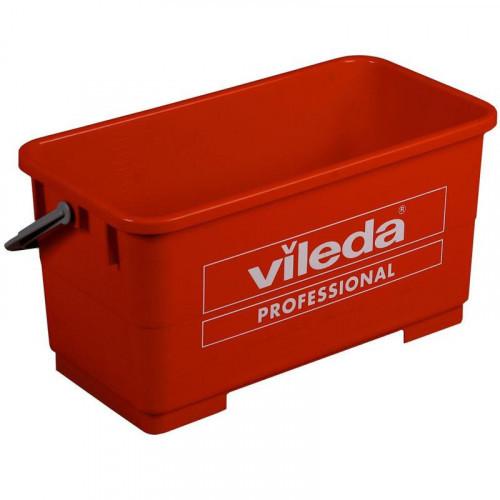 Ведро для мытья окон Vileda 22 литра 47.5x20.5x27 см красное без колес
