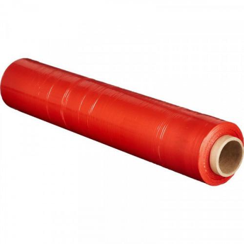Стрейч-пленка для ручной упаковки 180% 20 мкм 50 смx217м красная 2кг нетто