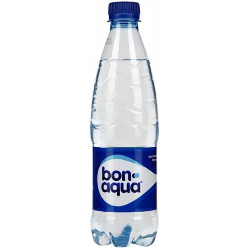 Вода питьевая Bon Aqua газированная 0.5 литра 24 штуки в упаковке