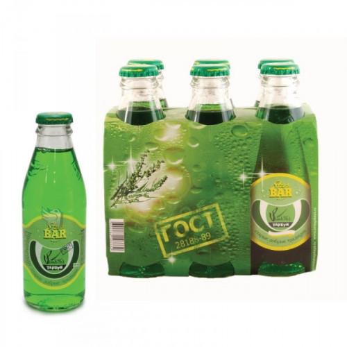 Напиток Star-bar Тархун газированный 0.175 литра 6 штук в упаковке