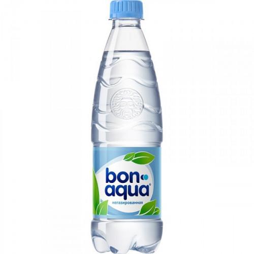 Вода питьевая Bon Aqua негазированная 0.5 литра 24 штуки в упаковке