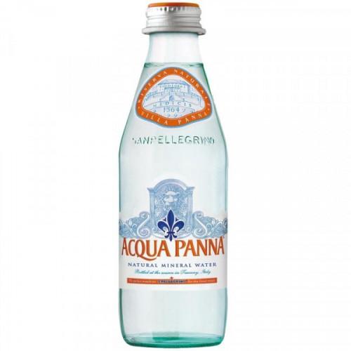 Вода минеральная Acqua Panna негазированная 0.25 литра 24 штуки в упаковке