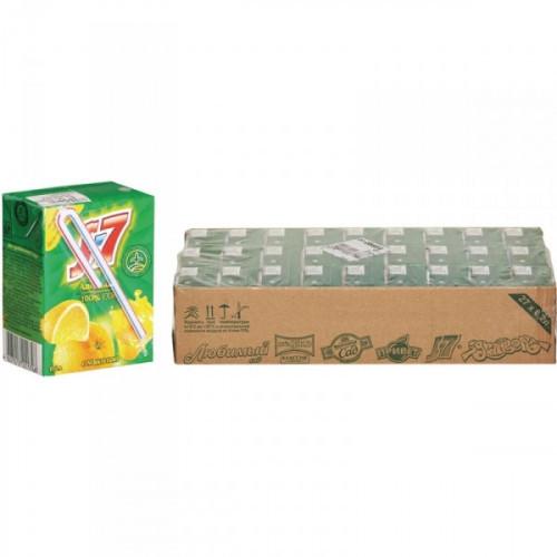 Сок J7 апельсин с мякотью 0.2 литра 27 штук в упаковке
