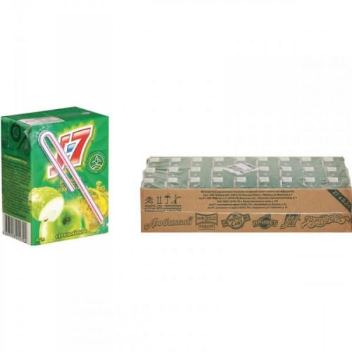 Сок J7 яблоко 0.2 литра 27 штук в упаковке