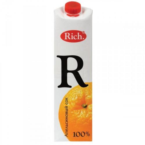 Сок Rich апельсин с мякотью 1 литр
