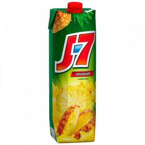 Нектар J7 ананас с мякотью 0.97 литра